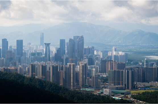 Cityscape of Shenzhen, China